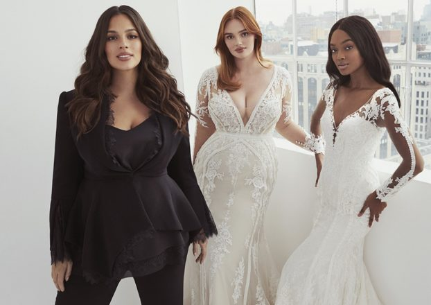 Featured Image for Ashley Graham x Pronovias plus-size collection 2020