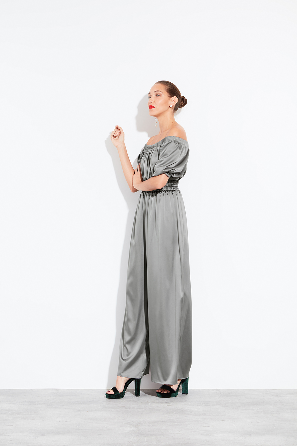 Halfpenny London Sister Bridesmaid Collection Klass Jumpsuit