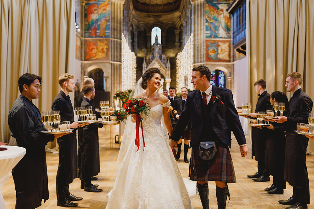 Duke Wedding Photography - Mansfield Traquair Wedding