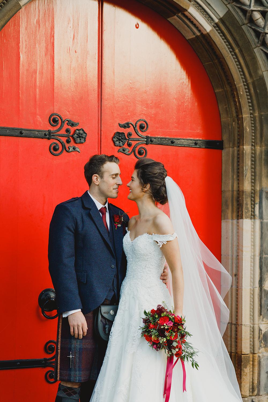 Duke Wedding Photography - Mansfield Traquair Wedding - ceremony