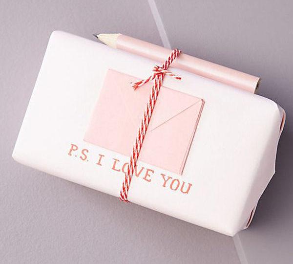 George & Viv Love Letter Bar Soap (£7) Anthropologie