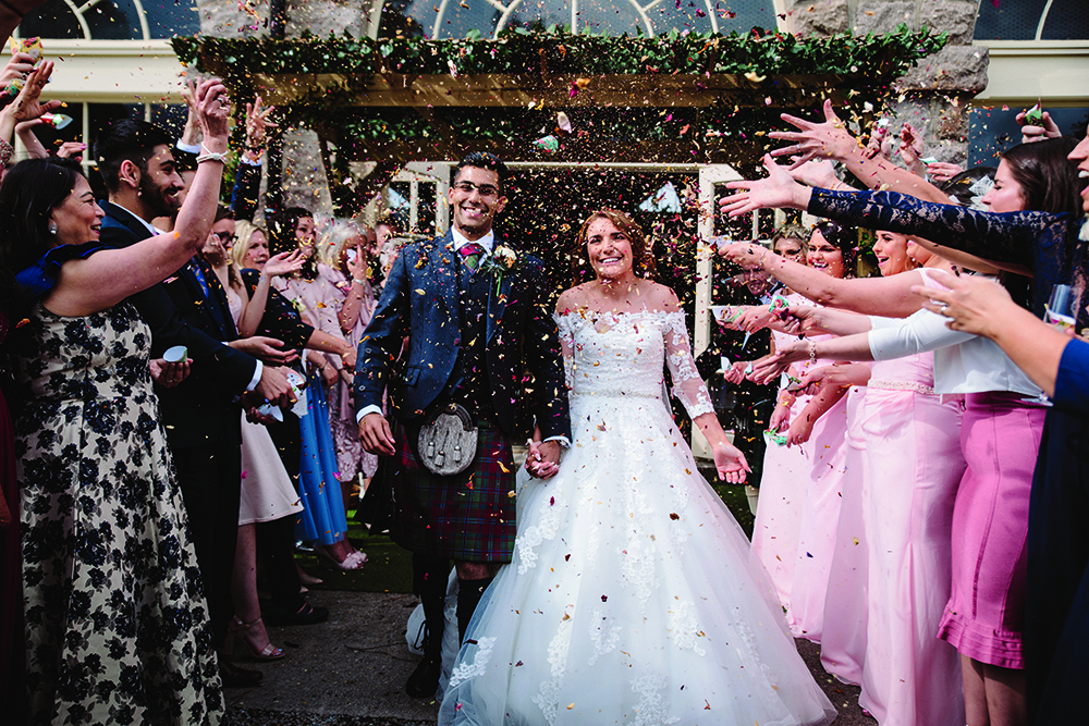 Featured Image for Family focused fairytale-themed wedding day at Coos Cathedral, Aberdeenshire