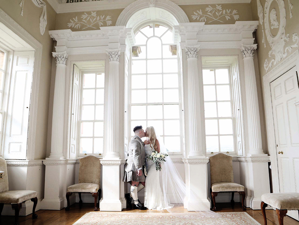 Ryan Mimiec Photography - Chatelherault wedding - Nicky McDonald couple shoot