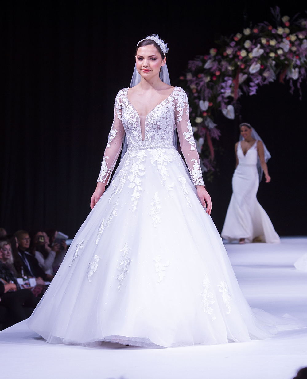 Angelique Lamont Scottish Wedding Show Wedding Dress