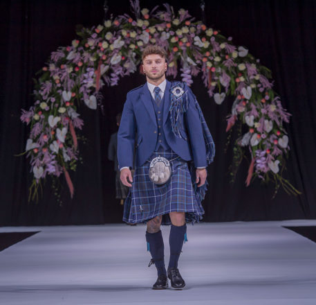 Featured Image for Grooms' kilts and suits we loved at the Scottish Wedding Show
