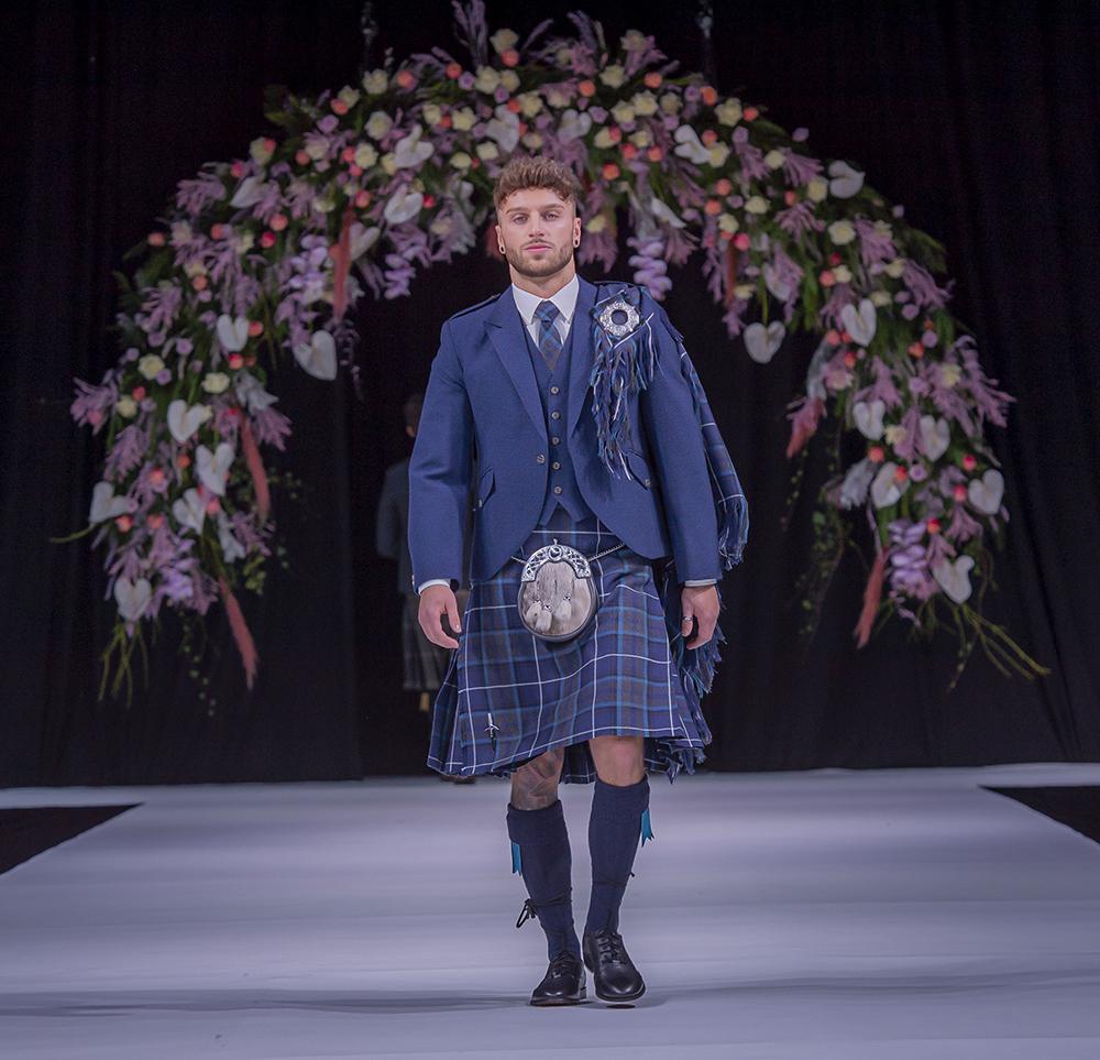 Clan Kilts Scottish Wedding Show Grooms Kilt Suit