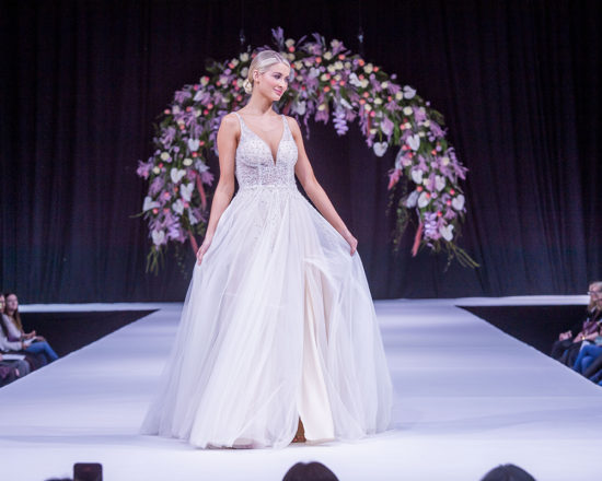 Featured Image for Wedding dresses we loved at the Scottish Wedding Show