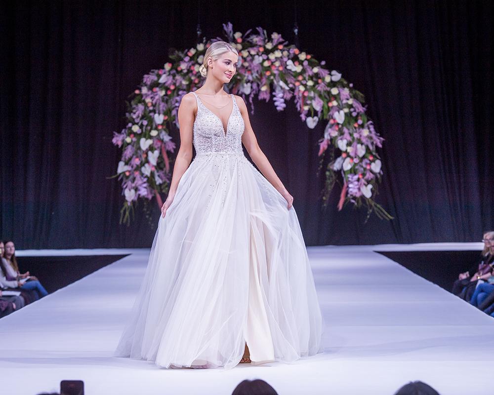 David's Bridal Scottish Wedding Show Wedding Dress