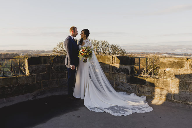 Featured Image for Dress Stories: Julie's fabulous Essense of Australia gown with uber-chic cape