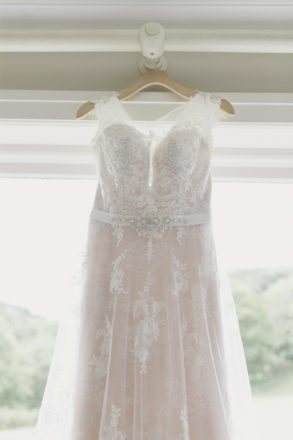 Featured Image for Dress Stories: Eilidh's beautiful ivory Ronald Joyce Jessie dress with nude lining