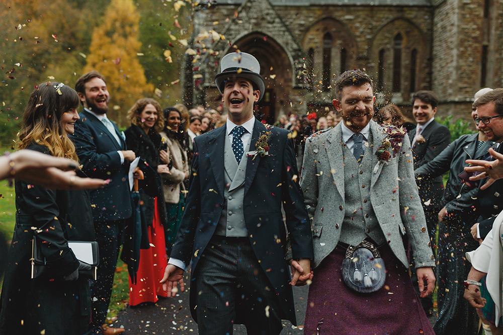 Duke Wedding Photography - Drumtochty Castle ceremony