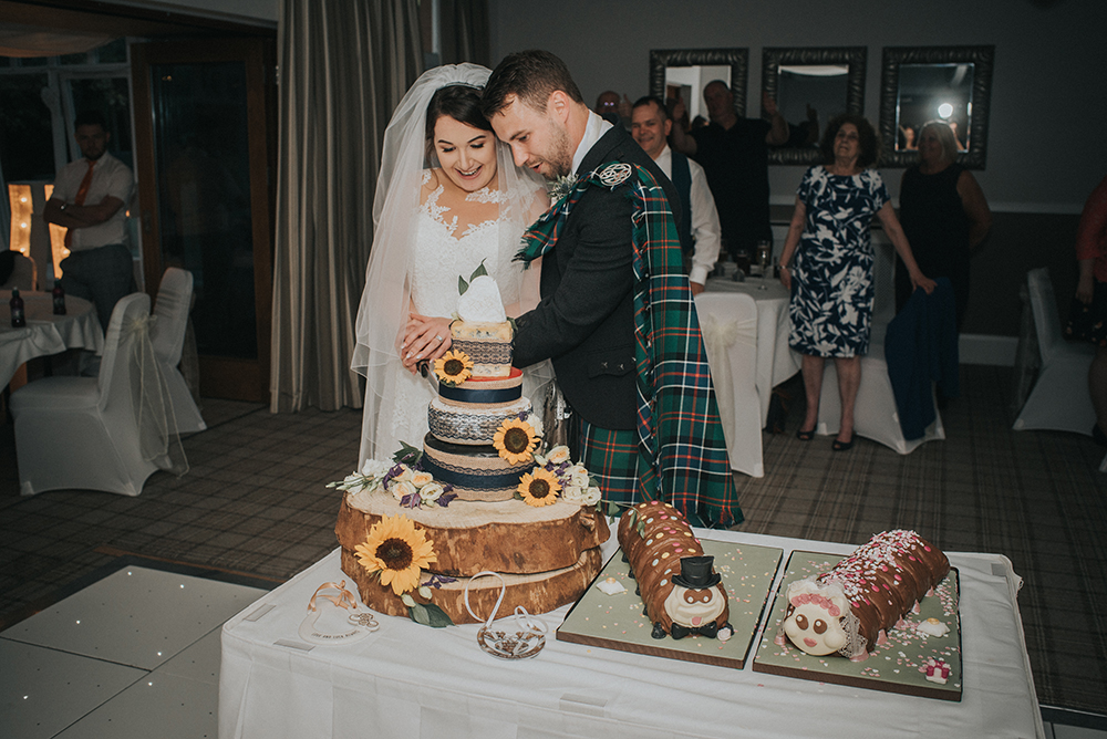 Good Luck Wolf Photography wedding at Rosslea Hall Hotel - reception
