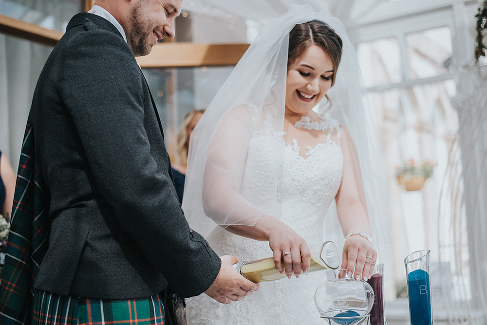 Good Luck Wold Photography wedding at Rosslea Hall Hotel - ceremony