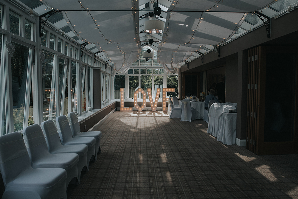 Good Luck Wold Photography wedding at Rosslea Hall Hotel - decor