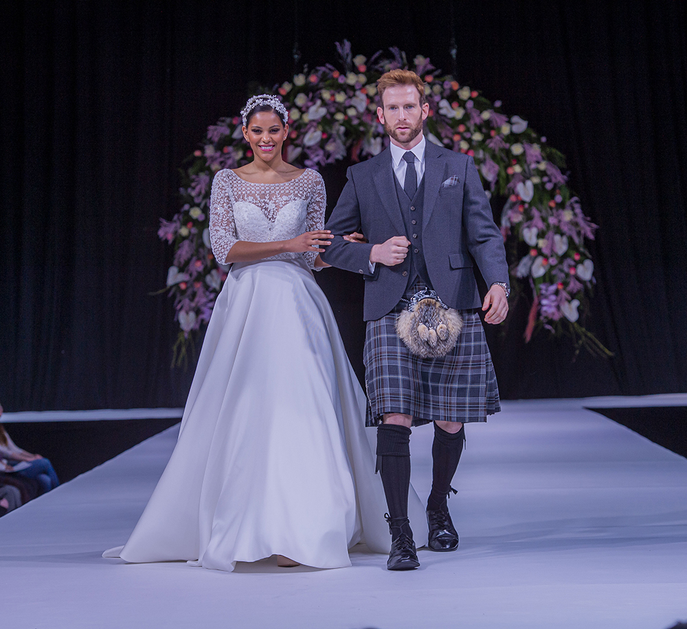MacGregor MacDuff Scottish Wedding Show Grooms Kilt Suit