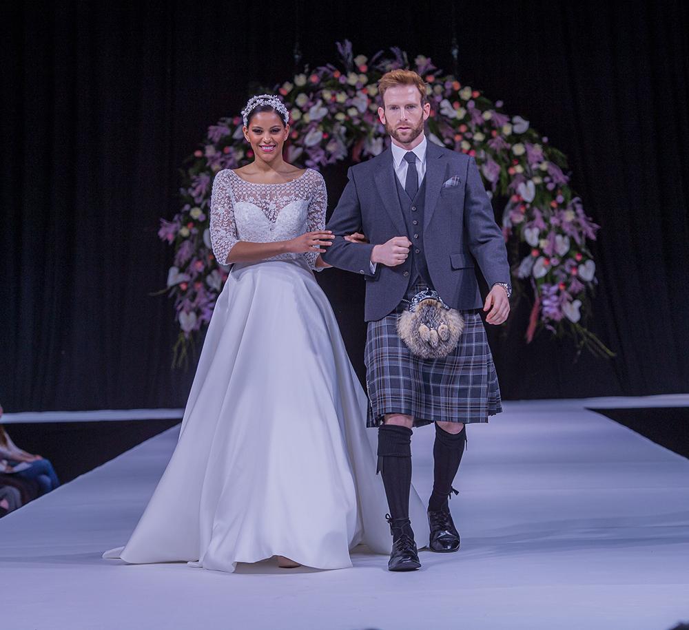 Joyce Young Design Studio Scottish Wedding Show Wedding Dress