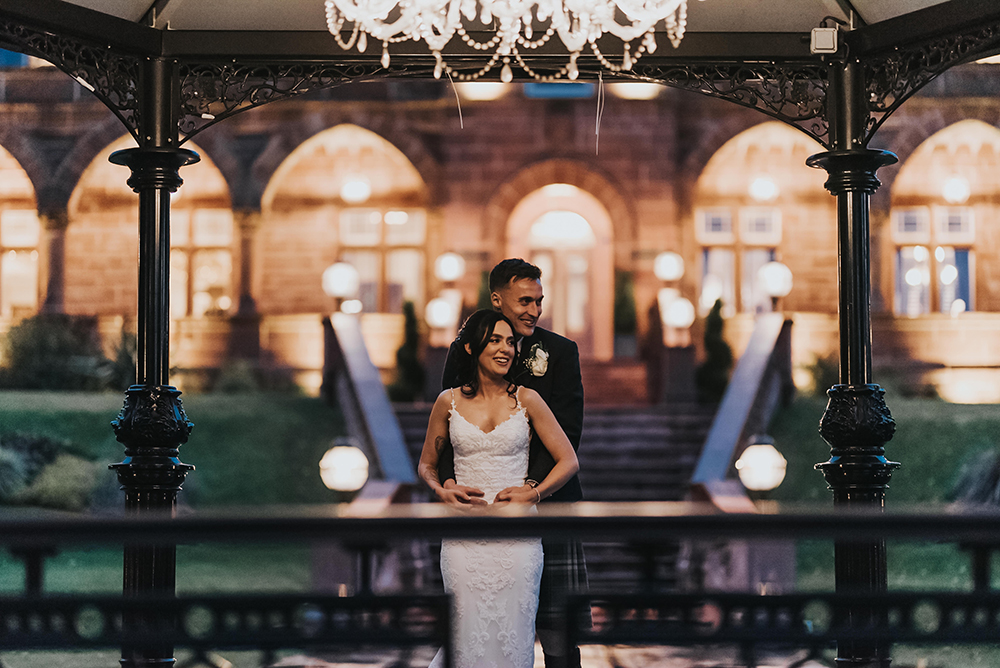 Karol Makula wedding at Boclair House - couples shot