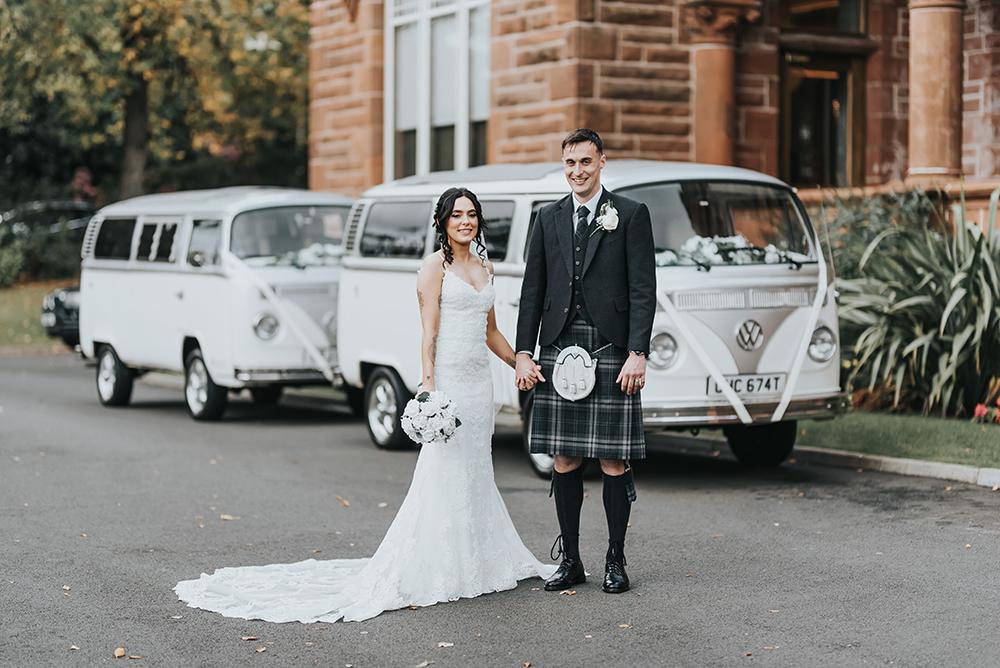 Karol Makula wedding at Boclair House - couple's shoot
