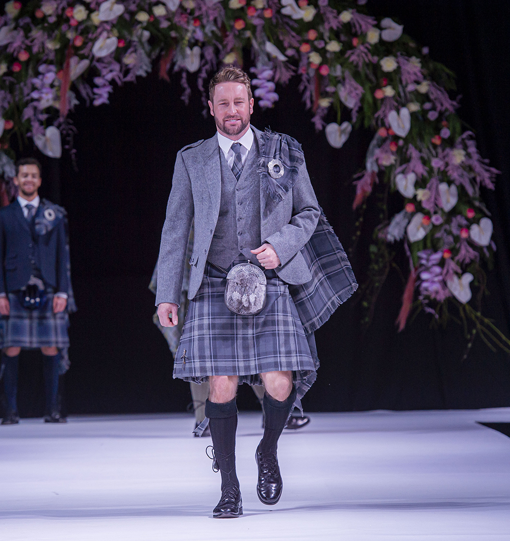 Kilts 4 U Scottish Wedding Show Grooms Kilt Suit