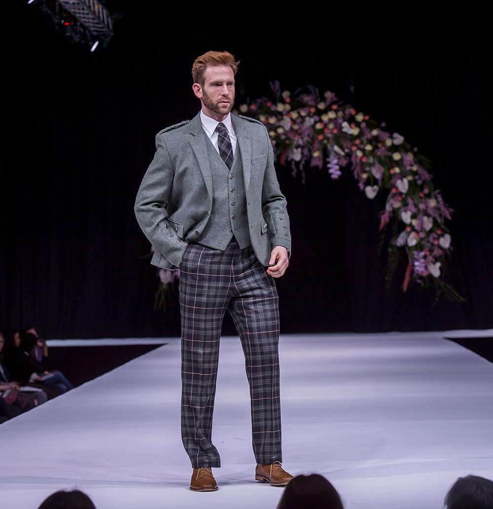 McCalls Scottish Wedding Show Grooms Kilt Suit