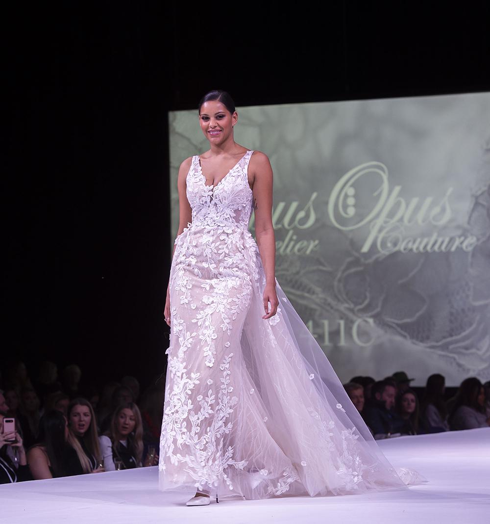 Opus Couture Opus Atelier Scottish Wedding Show Wedding Dress