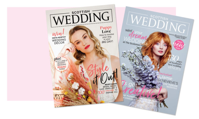 Featured Image for How to read Scottish Wedding magazine if you're stuck at home