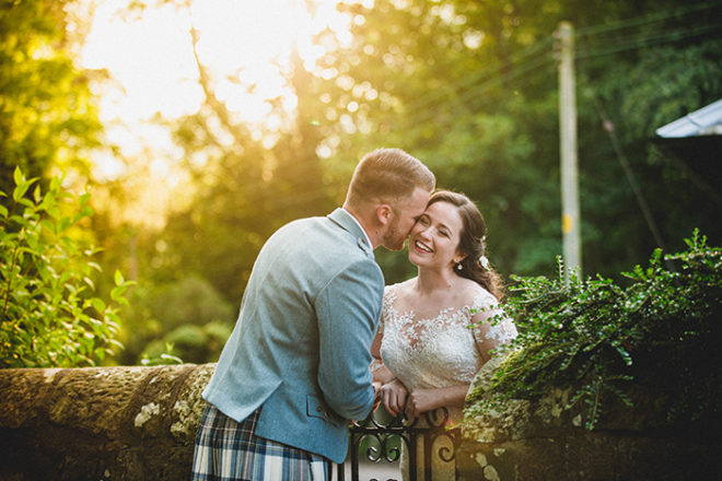 Featured Image for Lovely travel themed wedding day at Myres Castle, Fife