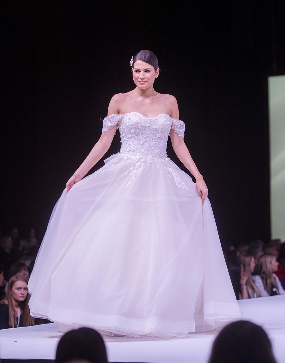 The Wedding Planner Scottish Wedding Show Wedding Dress