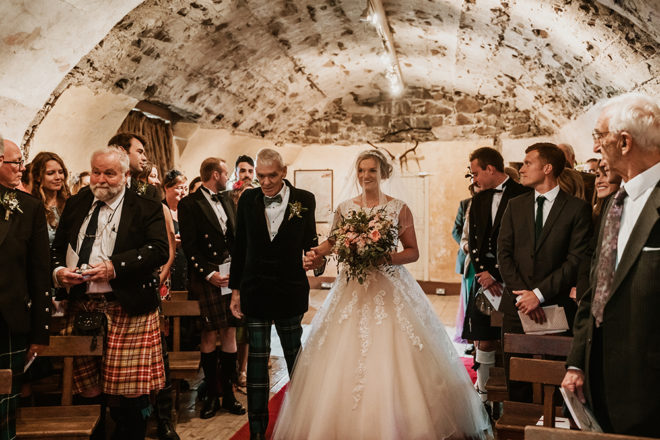 Featured Image for Dress Stories: Catriona's sparkle and lace Morilee princess gown
