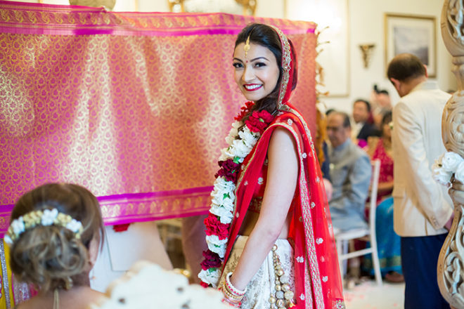 Featured Image for Dress Stories: Jasmine's two dresses for her Indian and Scottish wedding