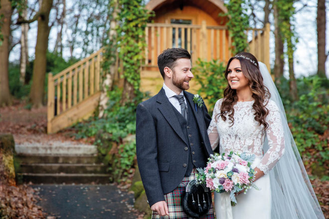 Featured Image for Dress Stories: Rachael's ivory fit and flare Modeca Farida dress