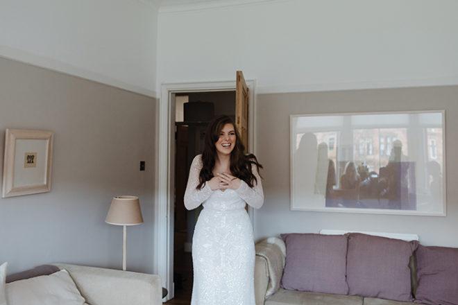 Featured Image for Dress stories: Laura's chic, sequinned Karen Willis Holmes Celine dress