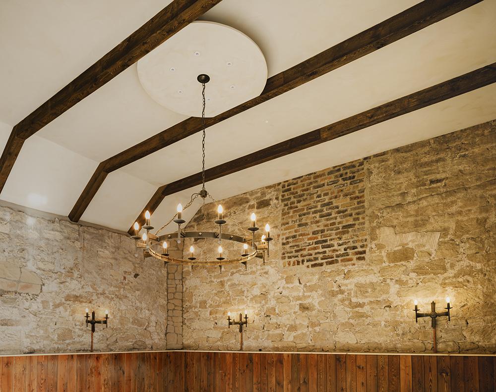 Riosebery Steading Barn wedding venue in Scotland