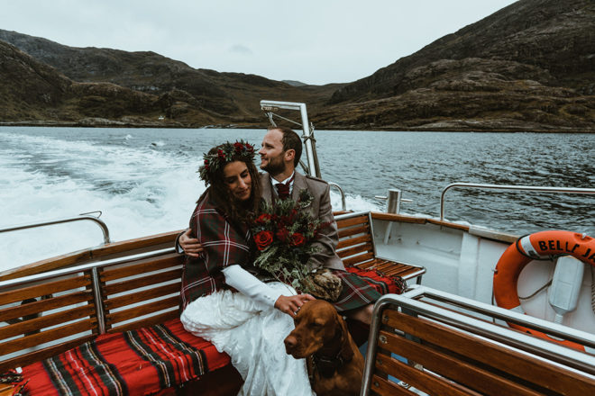 Featured Image for Atmospheric Isle of Skye elopement at Loch Coruisk