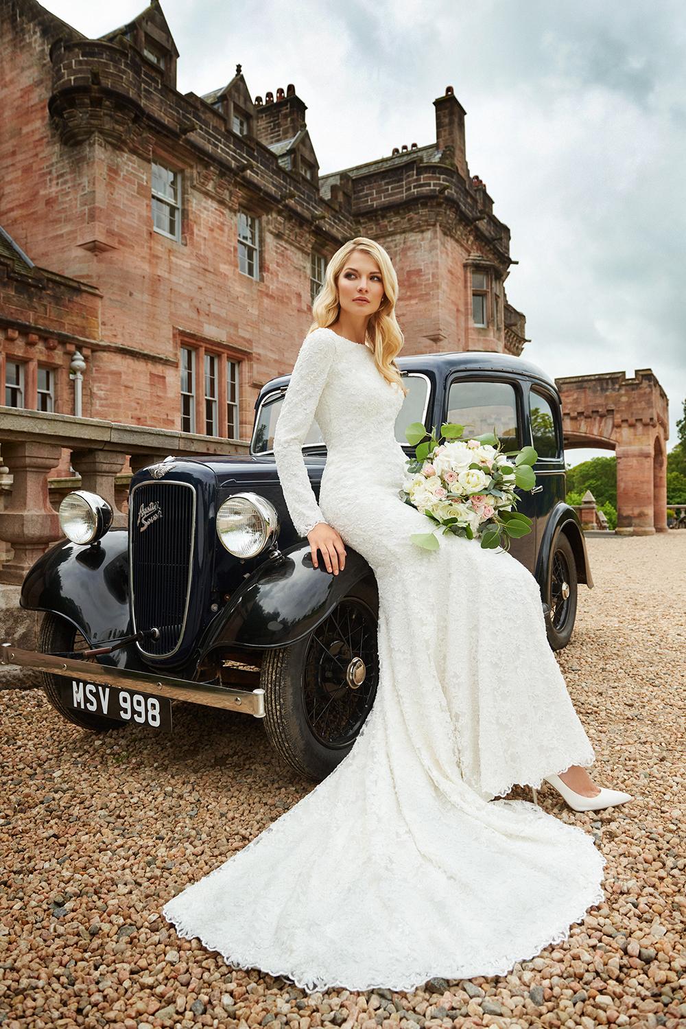 Wedding dress shop Scotland Joyce Young Design Studiso