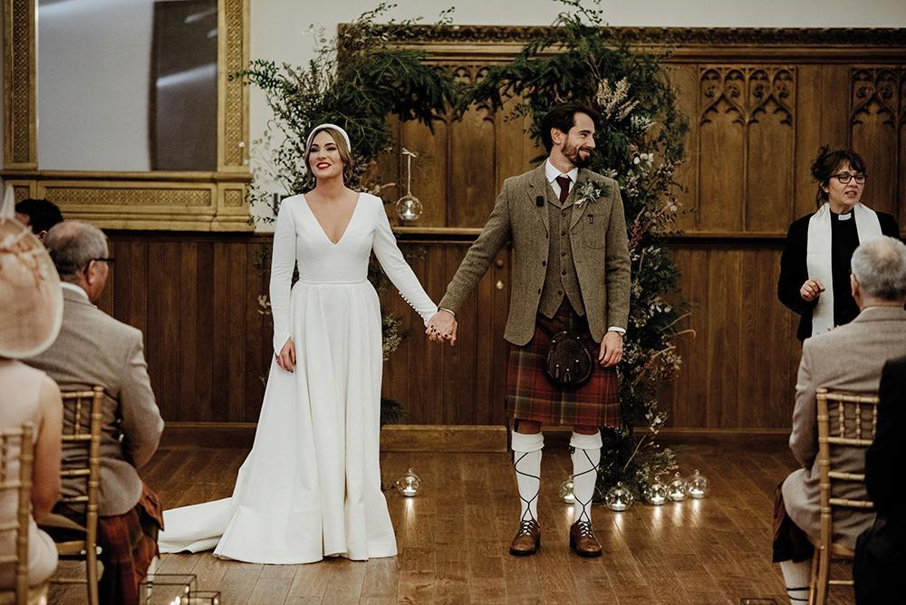Crossbasket Castle Wedding
