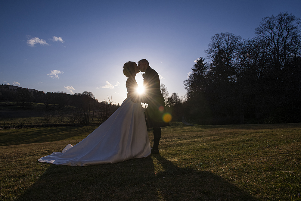 Logie Country House wedding