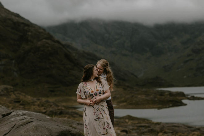 Featured Image for Our Scottish Elopement: A beautiful same-sex wedding by Loch Coruisk, Isle of Skye