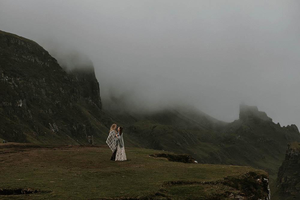 Loch Coruisk Isle of Skye Scottish Elopement