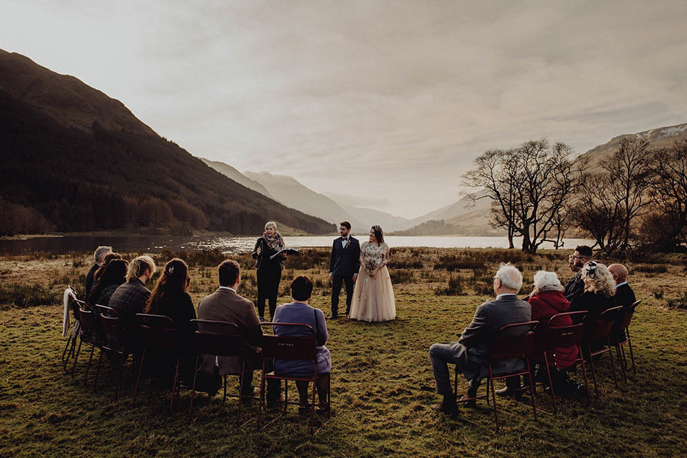 Humanist wedding ceremony Scotland