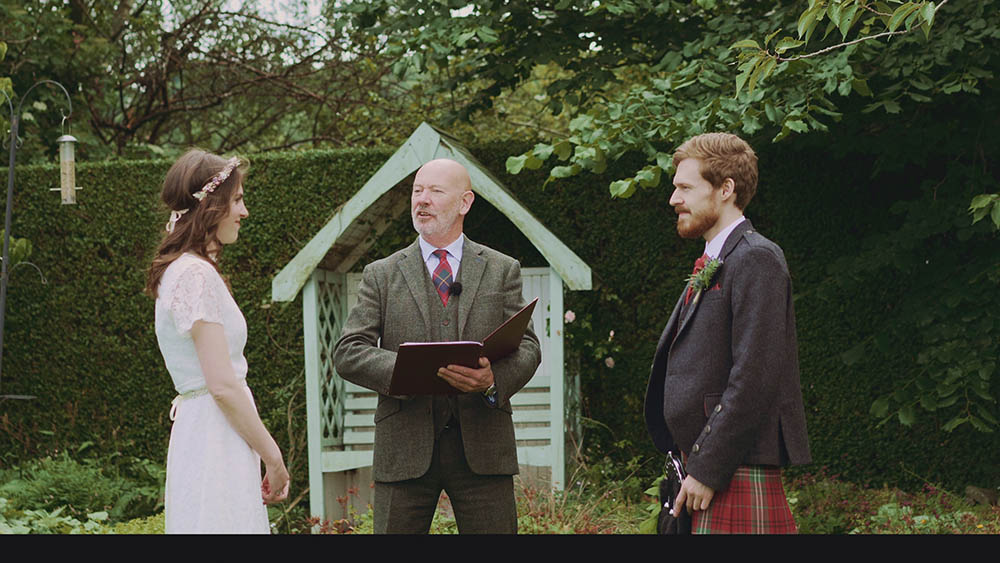"""Featured Image for """"We had a micro wedding in our celebrant's back garden!"""""""