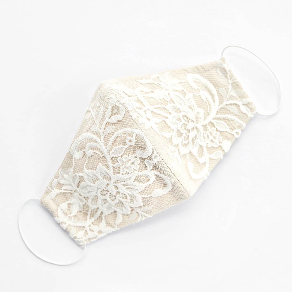 Bridal Wedding Lace Face Mask