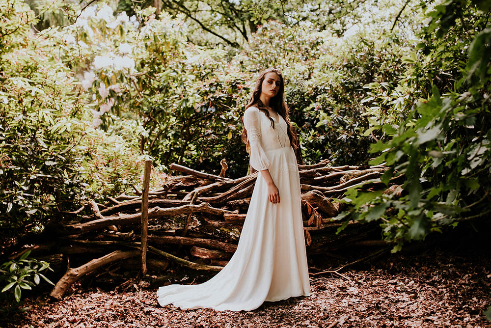 sustainable wedding dress scotland