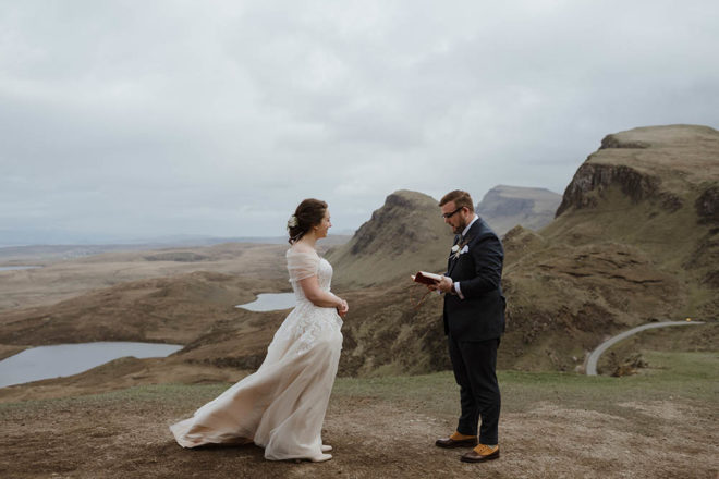 Featured Image for Our Scottish Elopement: A scenic wedding ceremony at the Quiraing, Isle of Skye