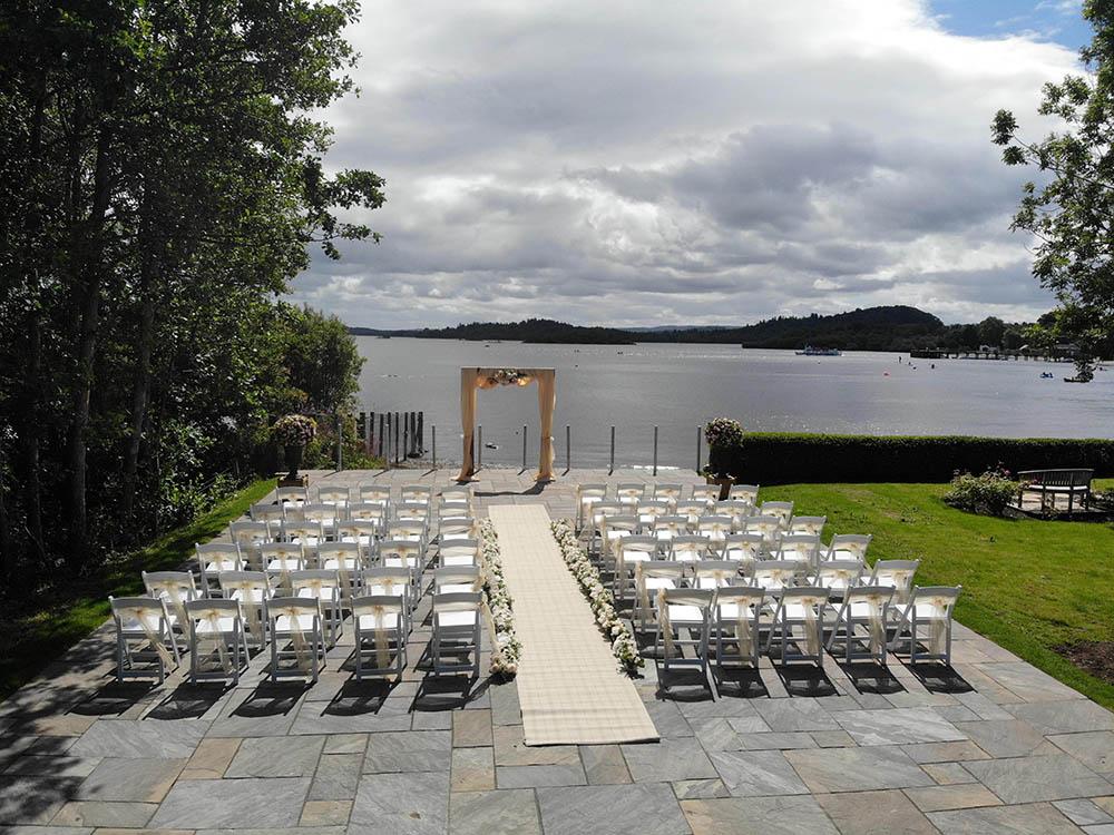 Lodge on Loch Lomond Outdoor Wedding 2