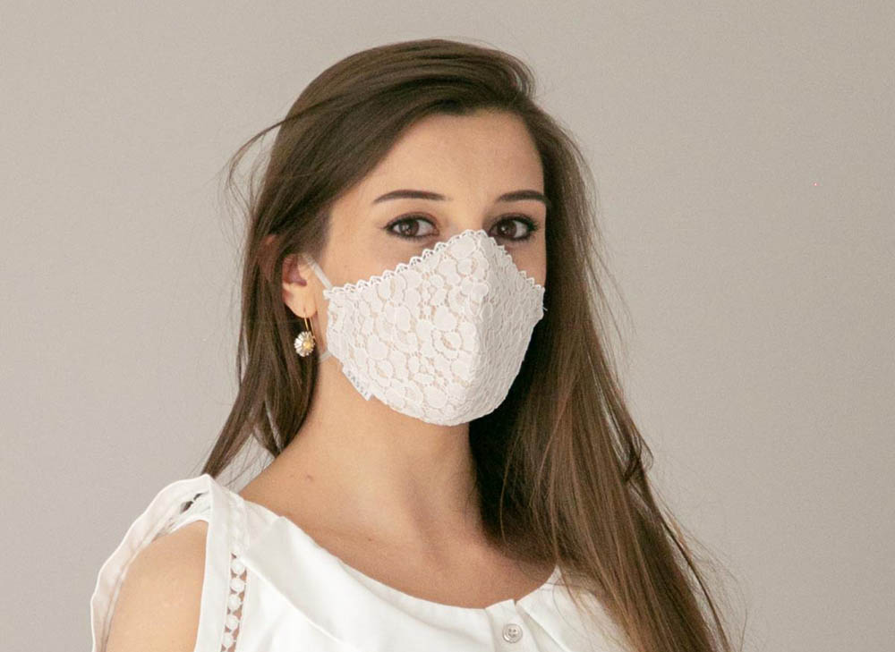 Wedding Face Covering