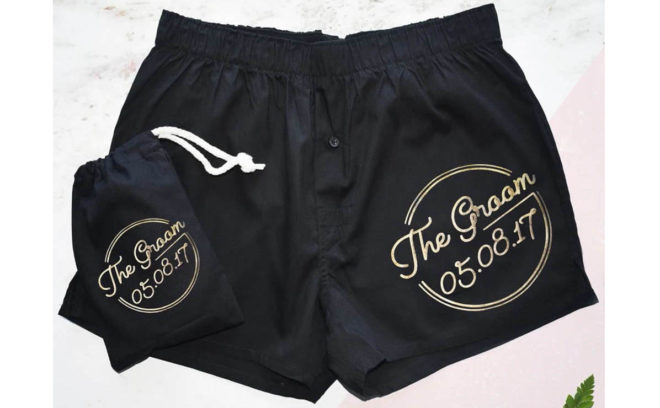 Featured Image for The best groom boxer shorts for your wedding day