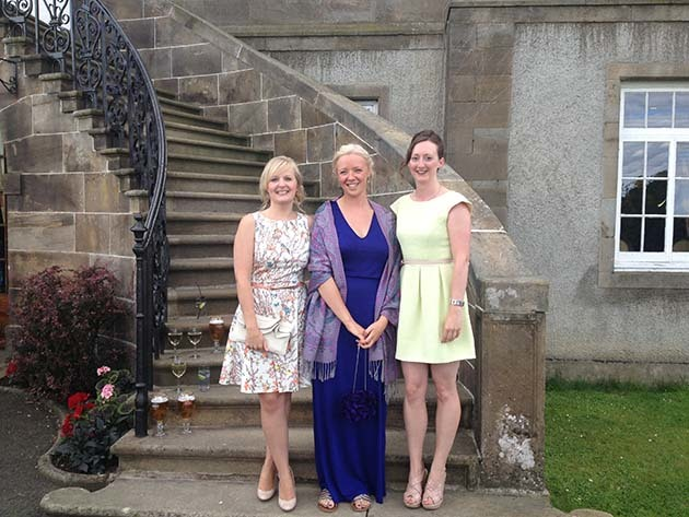 Polly with Jill and Jane