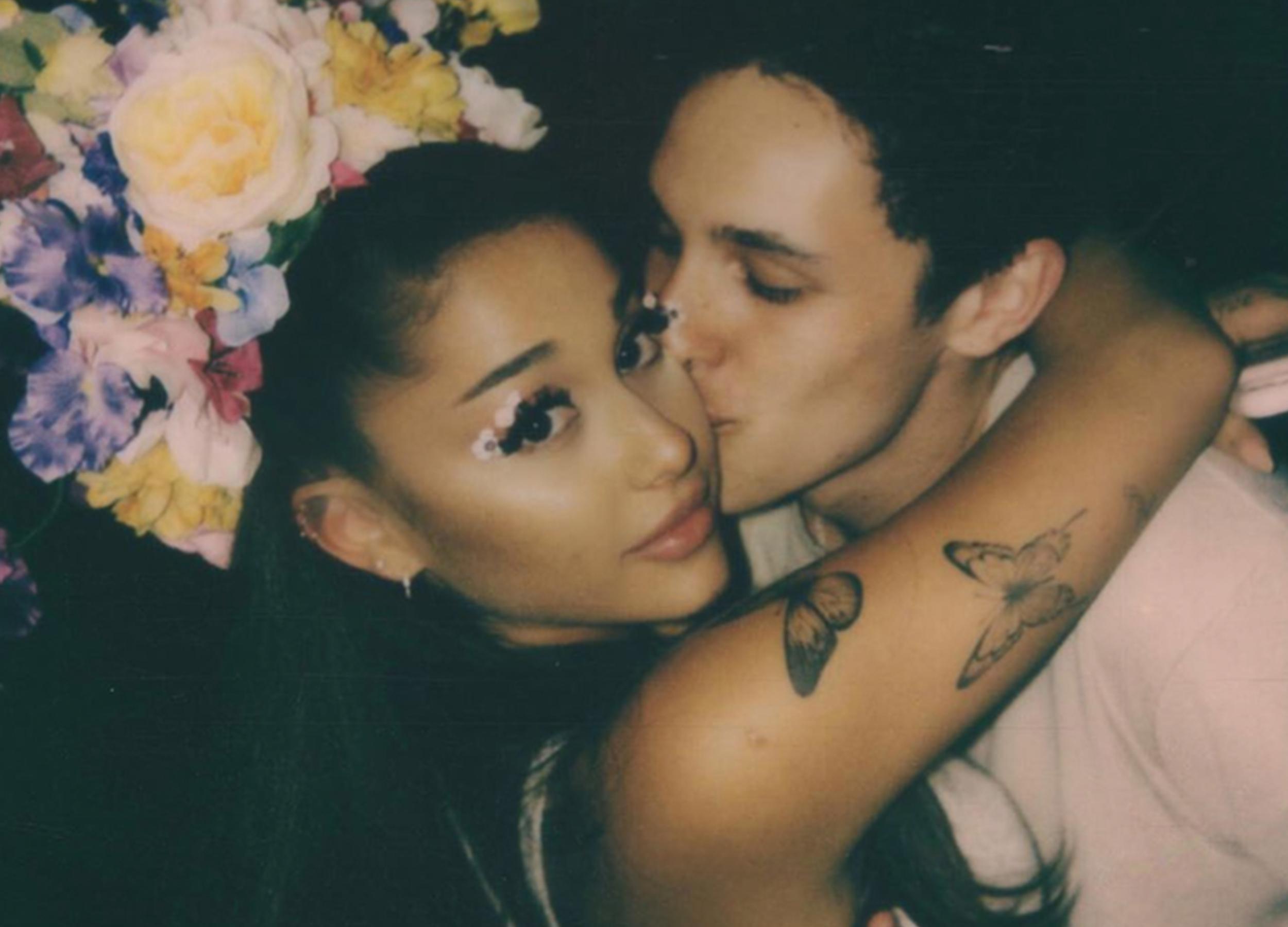 Ariana Grande Dalton Gomez fiance