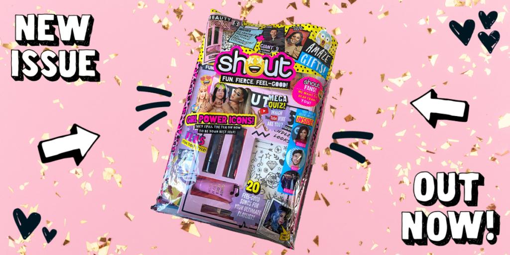 Shout teen magazine